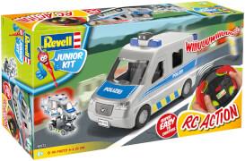 REVELL Junior Kit RC Police Van 1:20