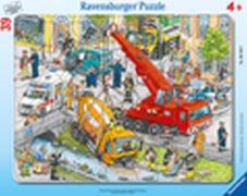 Ravensburger 06768 Rahmenpuzzle Rettungseinsatz 39 Teile