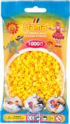 HAMA 207-03 Bügelperlen Midi, gelb, 1.000 Stück, ab 5 Jahren